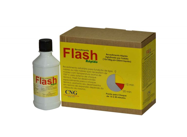 Revestimento Rápido Flash – 1Kg + 250ml
